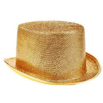 Silver or Gold Top Hat - Make It Up Costumes