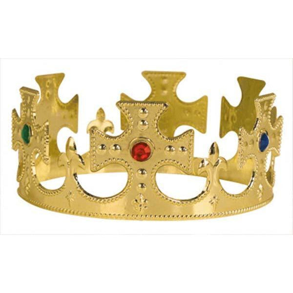 Adjustable King's Costume Crown - Make It Up Costumes