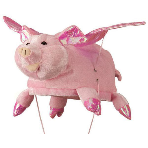Pig Hat with Flapping Wings - Make It Up Costumes
