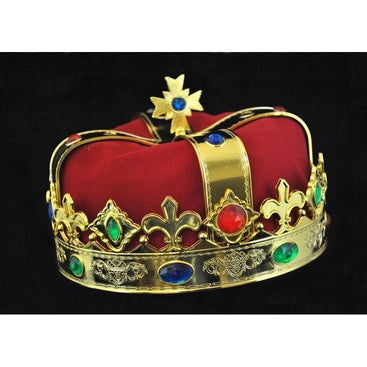 Royal Costume Crown - Make It Up Costumes