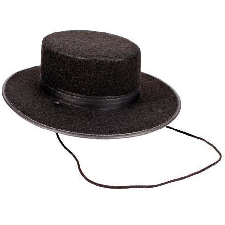 Basic Spanish Gaucho Hat - Make It Up Costumes