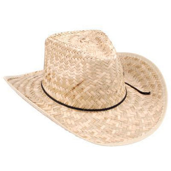 Straw Cowboy Hat for Men and Women - Make It Up Costumes
