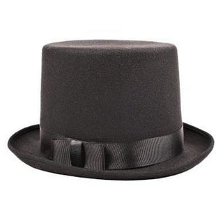 Deluxe Black Felt Top Hat - Make It Up Costumes