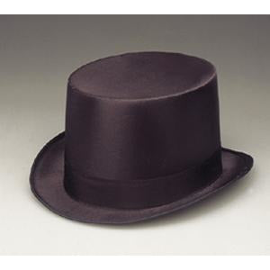 Black Top Hat Permasilk - Make It Up Costumes