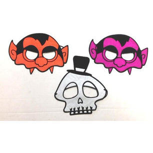 Halloween Half Masks - Make It Up Costumes