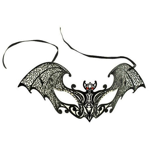 Laser-Cut Venetian Bat Mask - Make It Up Costumes