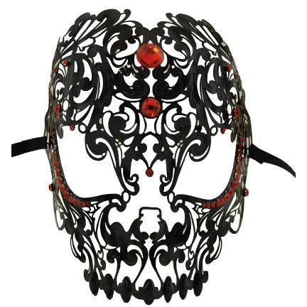 Venetian Metal Skull Mask - Make It Up Costumes