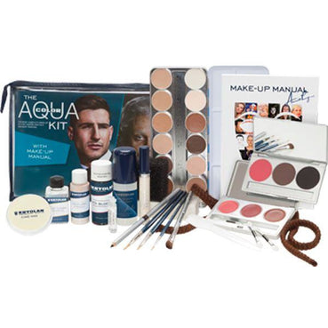 Kryolan Aquacolor Kit - Make It Up Costumes