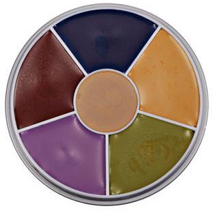 Kryolan Bruise Makeup Wheel - Make It Up Costumes