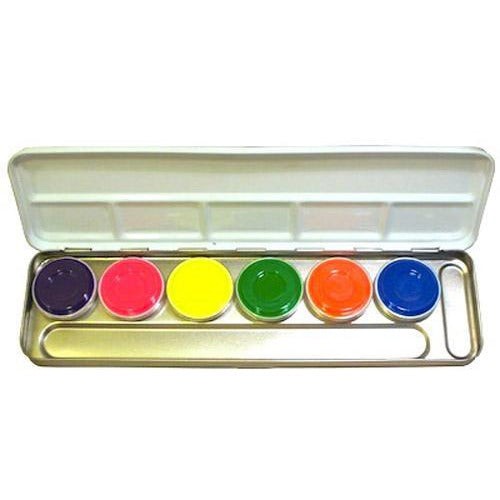 Kryolan UV-Dayglow Palette - Make It Up Costumes