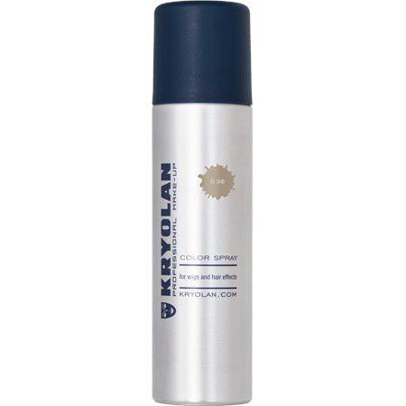 Kryolan Temporary Color Hair Spray - Make It Up Costumes