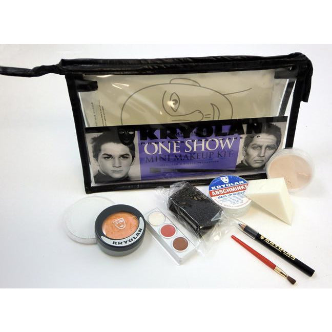 Kryolan One Show Mini Theatrical Makeup Kit - Make It Up Costumes
