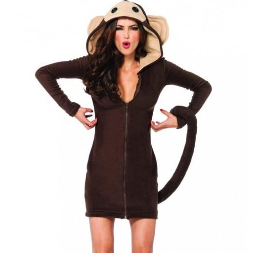 Women's Monkey Dress - Make It Up Costumes