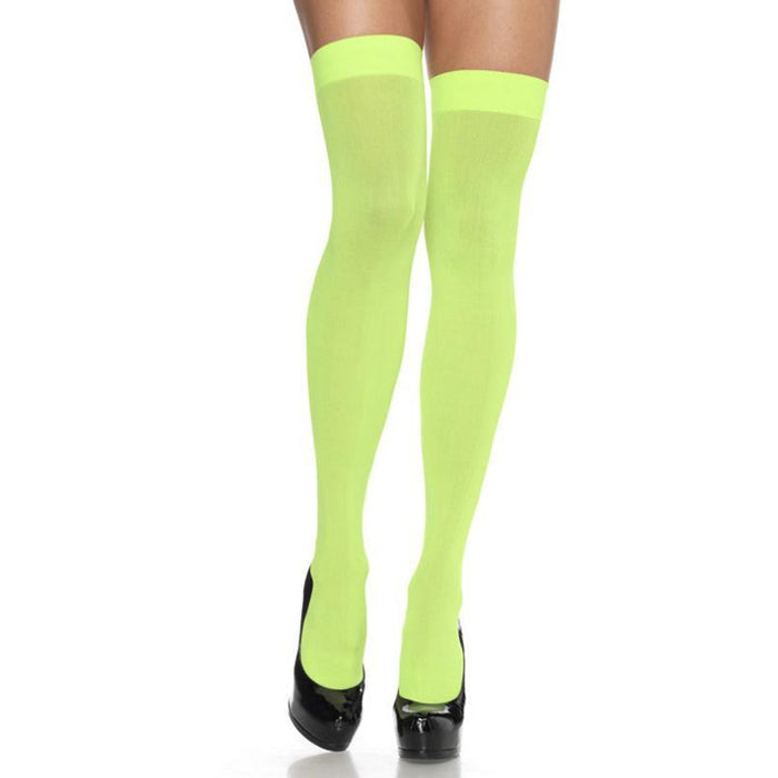 Neon Thigh Highs - Make It Up Costumes