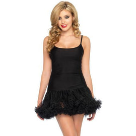 Petticoat Dress with Tulle Skirt - Make It Up Costumes