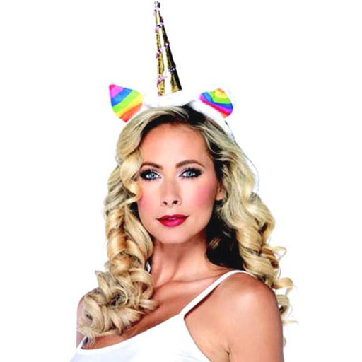 Rainbow Unicorn Headband - Make It Up Costumes