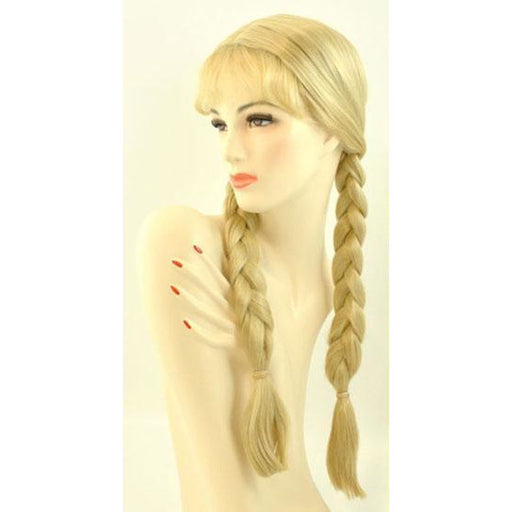 Women's Dutch Girl/Blonde Braided Wig - Make It Up Costumes
