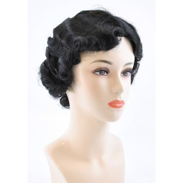 Women's 1920's Finger Wave Gatsby Wig - Make It Up Costumes