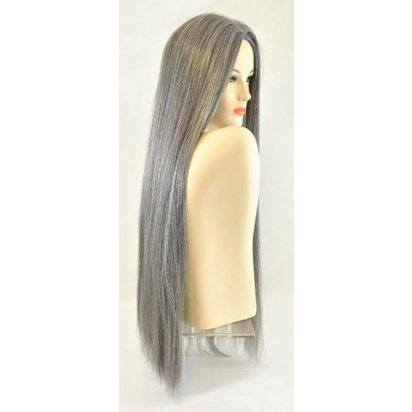 Classic Straight Wig in Grey - Make It Up Costumes