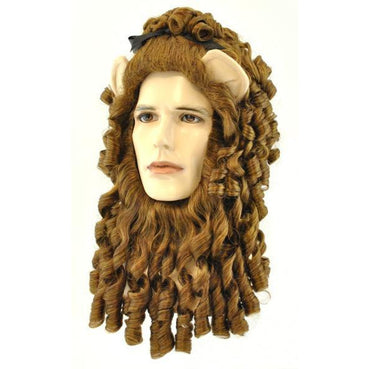 Lion Wig & Beard Set - Make It Up Costumes
