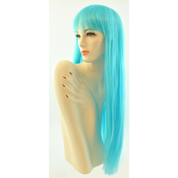 Women's Long Straight Wig with Bangs - Make It Up Costumes