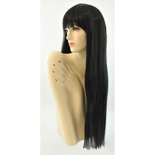 Women's Long Wig with Bangs - Make It Up Costumes