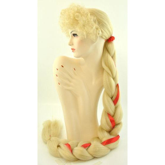 Braided Rapunzel Wig - Make It Up Costumes