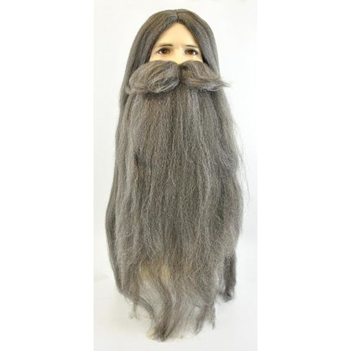 Men's Wizard Wig and Beard - Make It Up Costumes