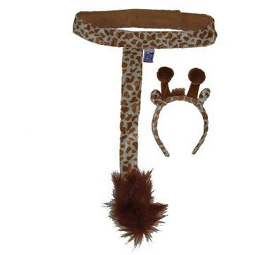 Giraffe Costume Kit with Ears and Tail - Make It Up Costumes