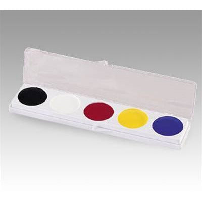 Mehron Basic 5-Color Clown Makeup Palettes - Make It Up Costumes