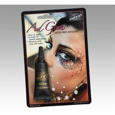 Mehron AdGem Body Adhesive with Gems - Make It Up Costumes