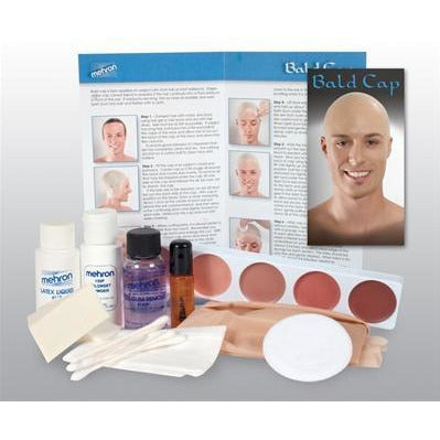 Mehron Bald Cap Kit - Make It Up Costumes