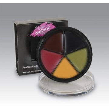 Mehron Bruise Makeup ProColorRing - Make It Up Costumes