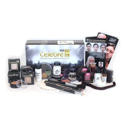 Mehron Celebre Theatrical Makeup Kits - Make It Up Costumes
