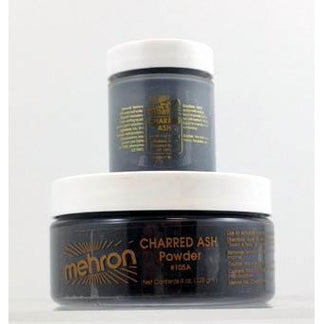 Mehron Soot Makeup Powder - Charred Ash - Make It Up Costumes