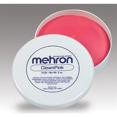 Mehron Clown Pink Makeup - Make It Up Costumes