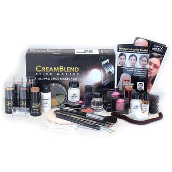Mehron All-Pro CreamBlend Theatrical Makeup Kit - Make It Up Costumes