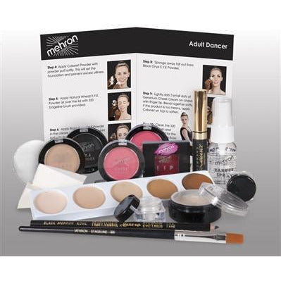 Mehron Theatrical Dancer Makeup Kit - Make It Up Costumes