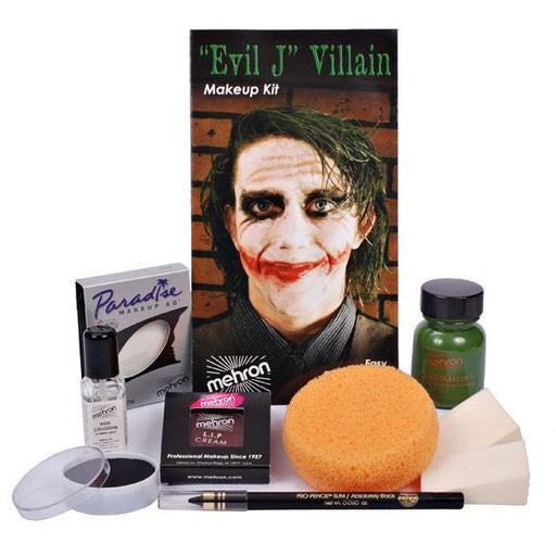 Evil J Makeup Kit by Mehron - Make It Up Costumes