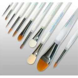 Paradise Makeup AQ Professional Face Painting Brushes - Make It Up Costumes