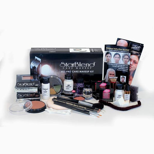 Mehron All-Pro StarBlend Theatrical Makeup Kit - Make It Up Costumes