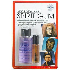 Mehron Spirit Gum and Remover Combo - Make It Up Costumes