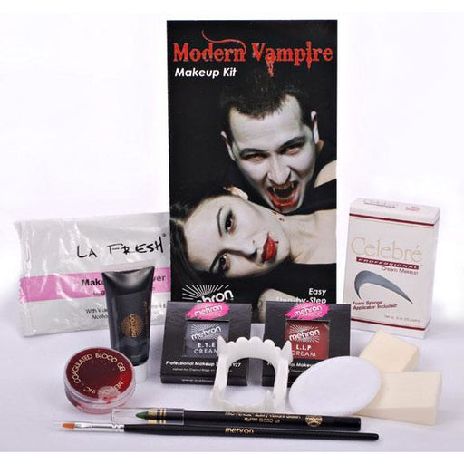 Mehron Modern Vampire Makeup Kit - Make It Up Costumes