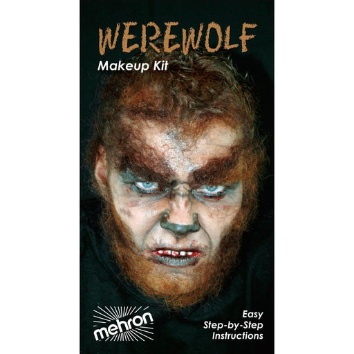 Mehron Werewolf Makeup Kit - Make It Up Costumes