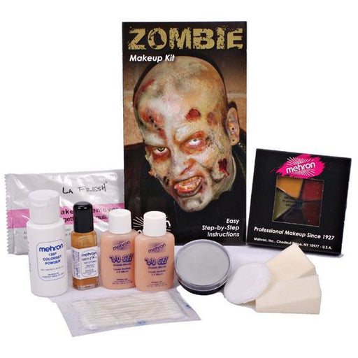 Mehron Zombie Makeup Kit - Make It Up Costumes