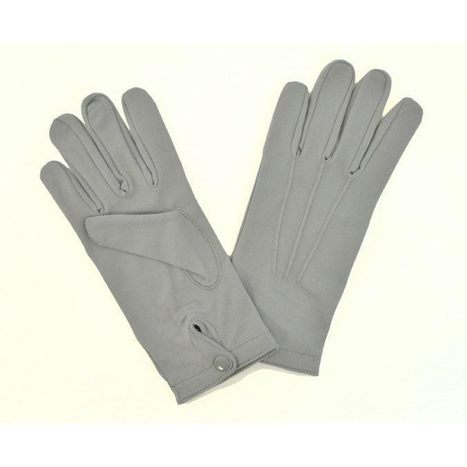 Mens Grey Dress Gloves - Make It Up Costumes