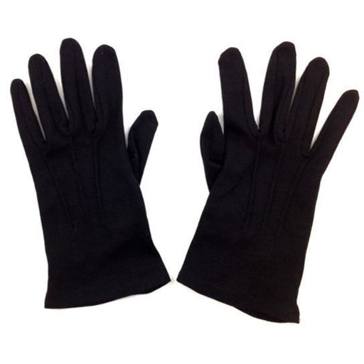 Mens Black Formal Gloves - Make It Up Costumes