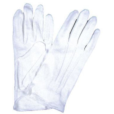 Men's White Dress Gloves - Make It Up Costumes