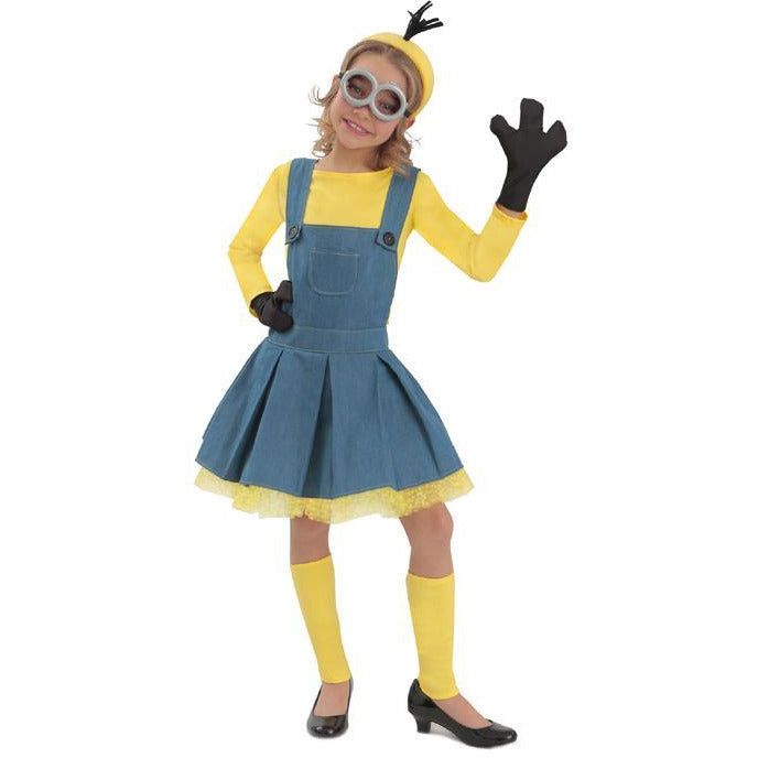 Girl's Minion Costume - Make It Up Costumes