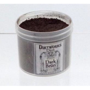Fleet Street Dirtworks Dirt Makeup Powder - Dark Brun - Make It Up Costumes